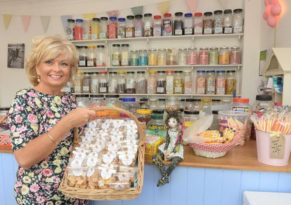 Helen Beveridge, owner of Fudge Fairy has made fudge favours as part of a welcome package for the delegates of Nato. She will also be running a pop up stall at the summit and selling her fudge to the media. Pictured is Helen at her shop in Caldicot.