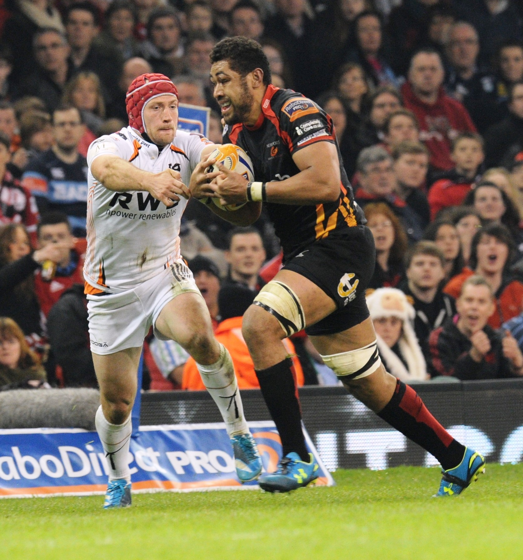 Taulupe Faletau to start Dragons' Pro12 opener  in Connacht on the