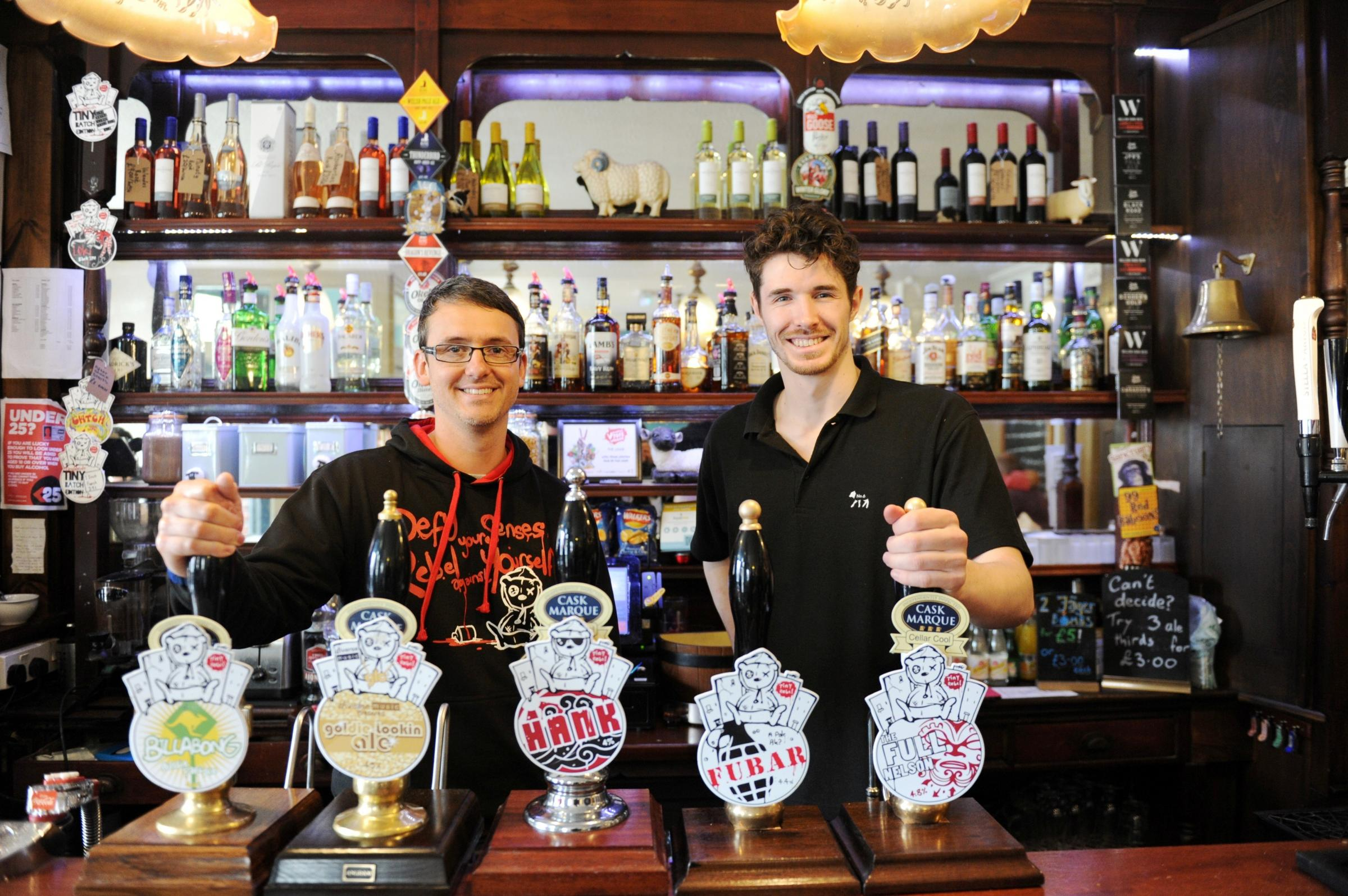 First Person: Gareth Williams of Tiny Rebel brewery