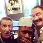 South Wales Argus: Tinchy Stryder is making music with the Chuckle Brothers (Tinchy Stryder/Instagram)
