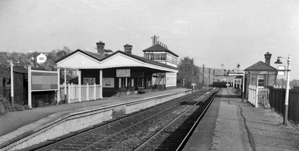 NOW AND THEN: Bassaleg station