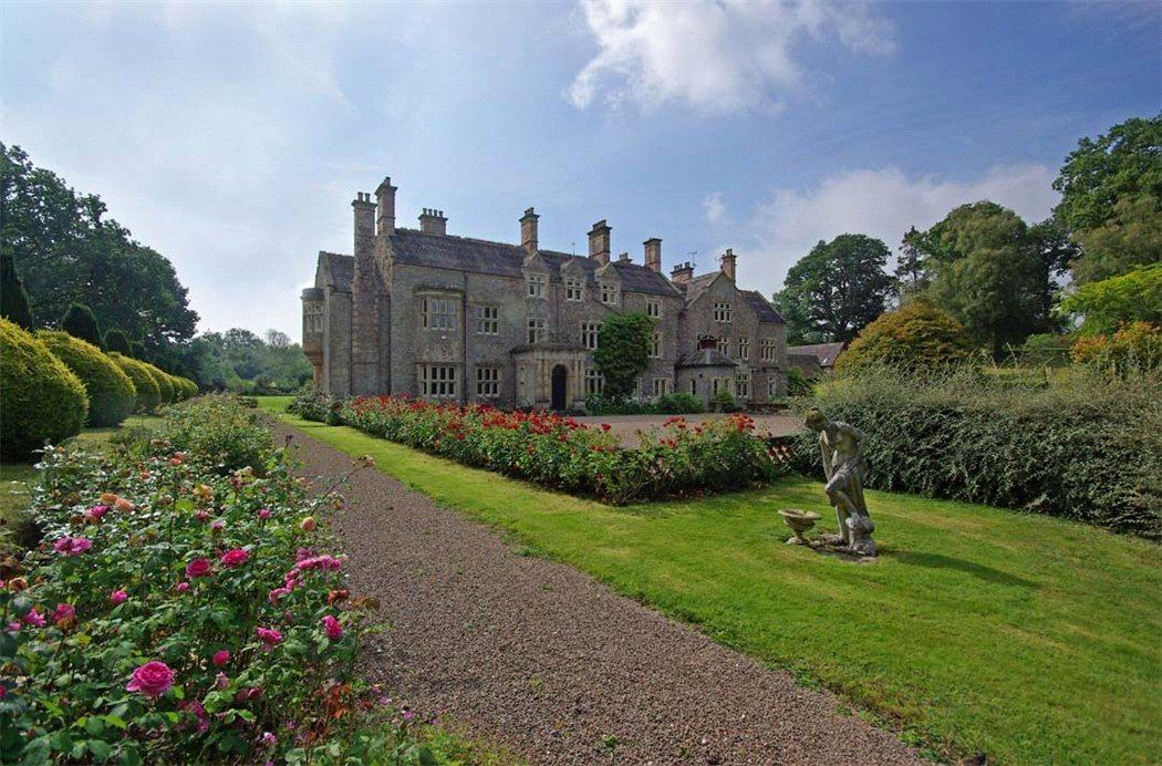 Late Lord Raglan's home up for sale with £1 65m price tag