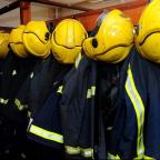 South Wales Argus: Scores of firefighters are tackling the blaze