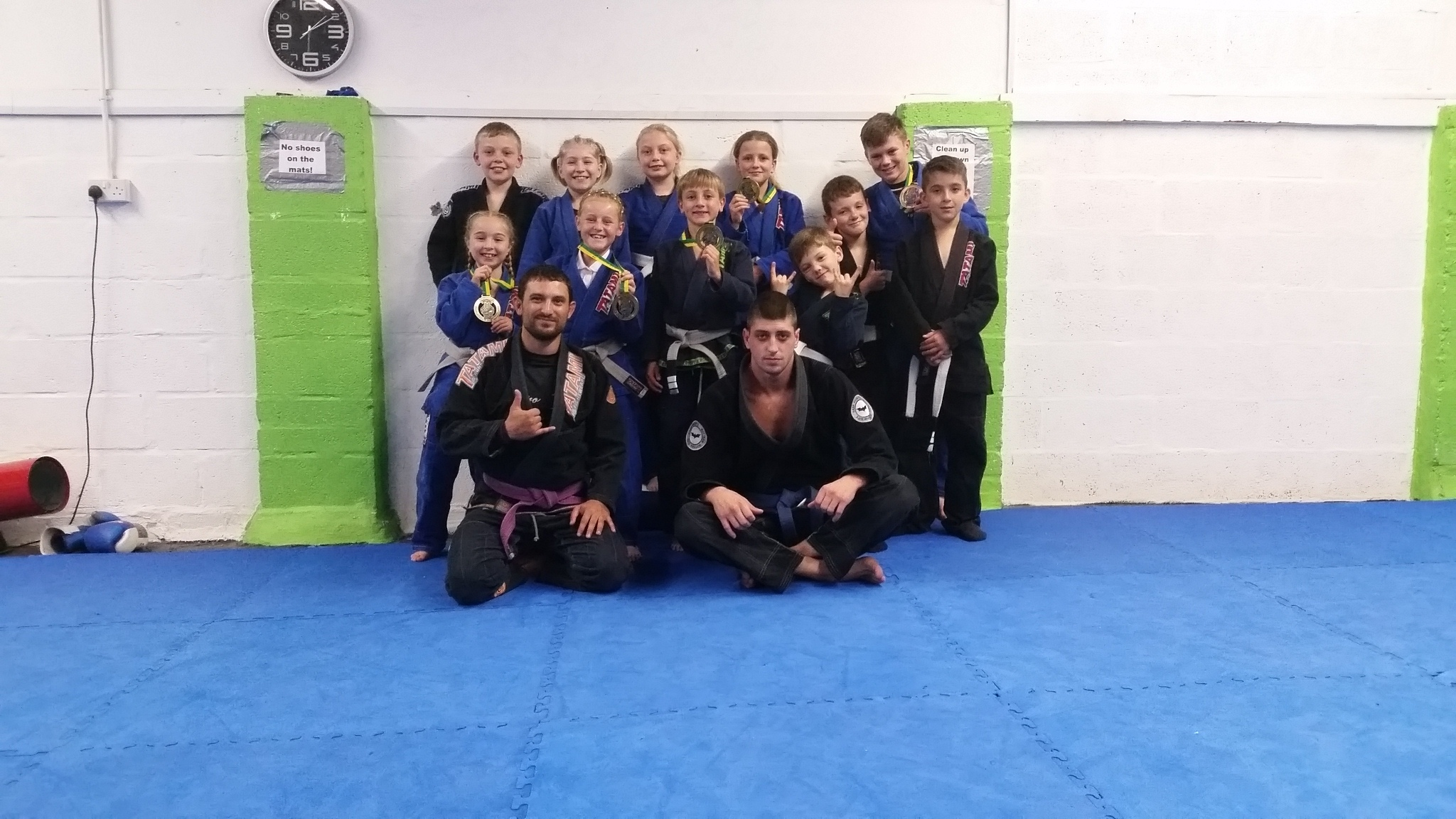 eb886ab296 Youngsters from Newport MMA are in the medals