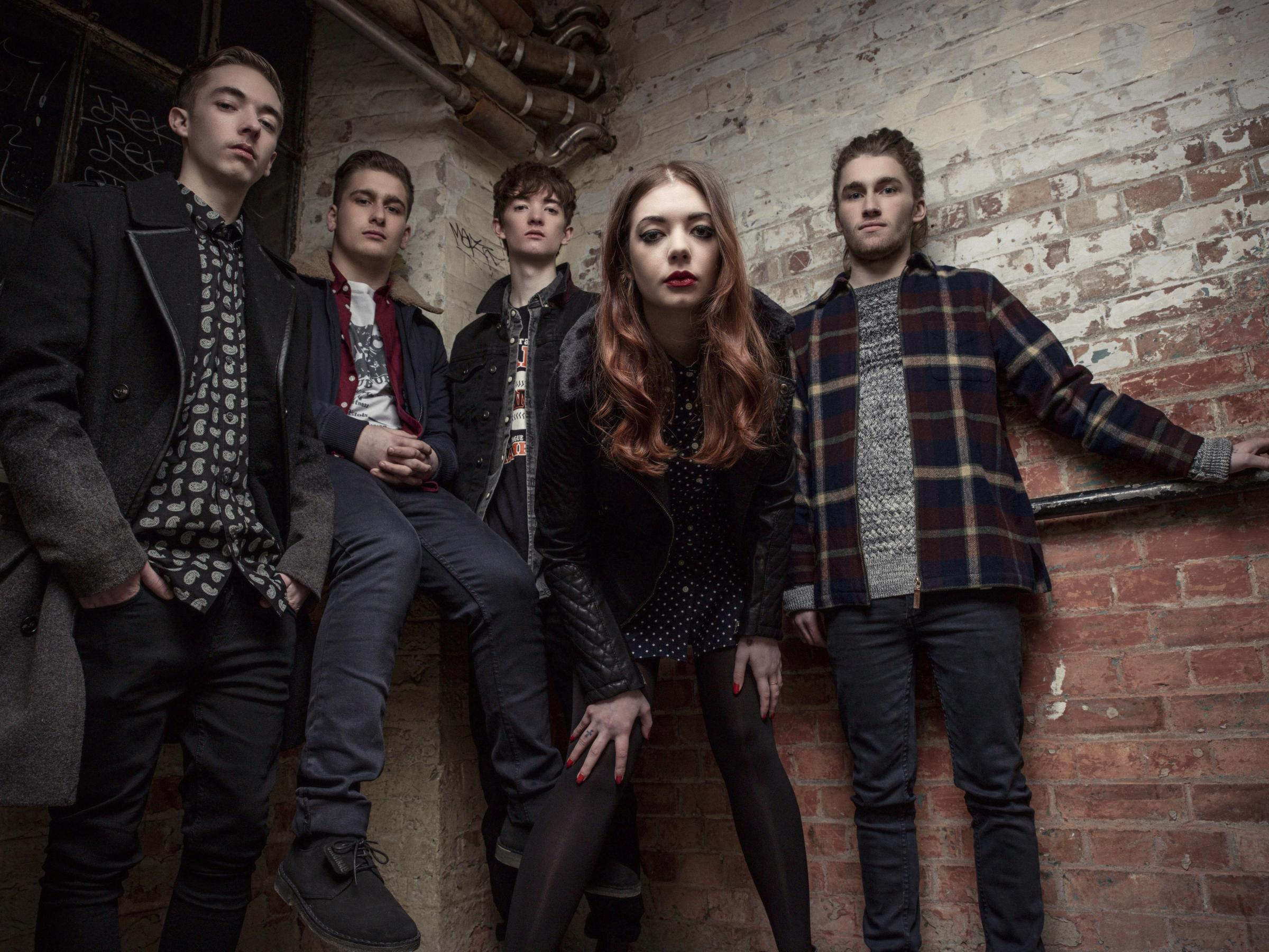 The Marmozets, photographed in East London 29/1/14 (10733281)