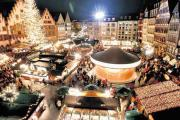 Frankfurt Christmas market in Germany