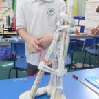 South Wales Argus: School of the Week - Llantarnam Community Primary School. Josh Lloyd making a model microbe. (11363846)