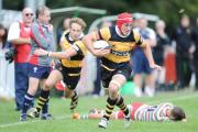 READY FOR BATTLE: Newport captain and flanker Ollie Griffiths