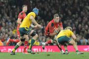 UNATTACHED: Wales flanker Dan Lydiate has been released by Racing Metro and is currently without a club