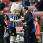 South Wales Argus: Wigan boss Malky Mackay, right, thanked the club's fans and staff for the welcome