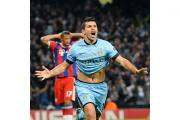 Samir Nasri has hailed team-mate Sergio Aguero, pictured, after his stunning hat-trick for Manchester City against Bayern Munich