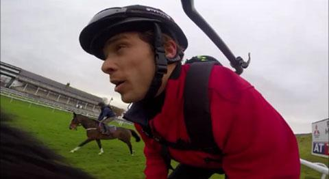 VIDEO: Jockey's eye view of Chepstow racecourse