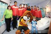 SMILES: We visited children at the Royal Gwent this week