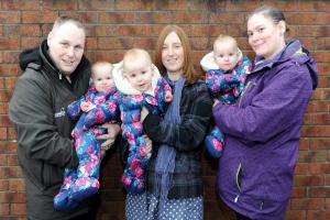 WORK EXPERIENCE: Nanny to triplets