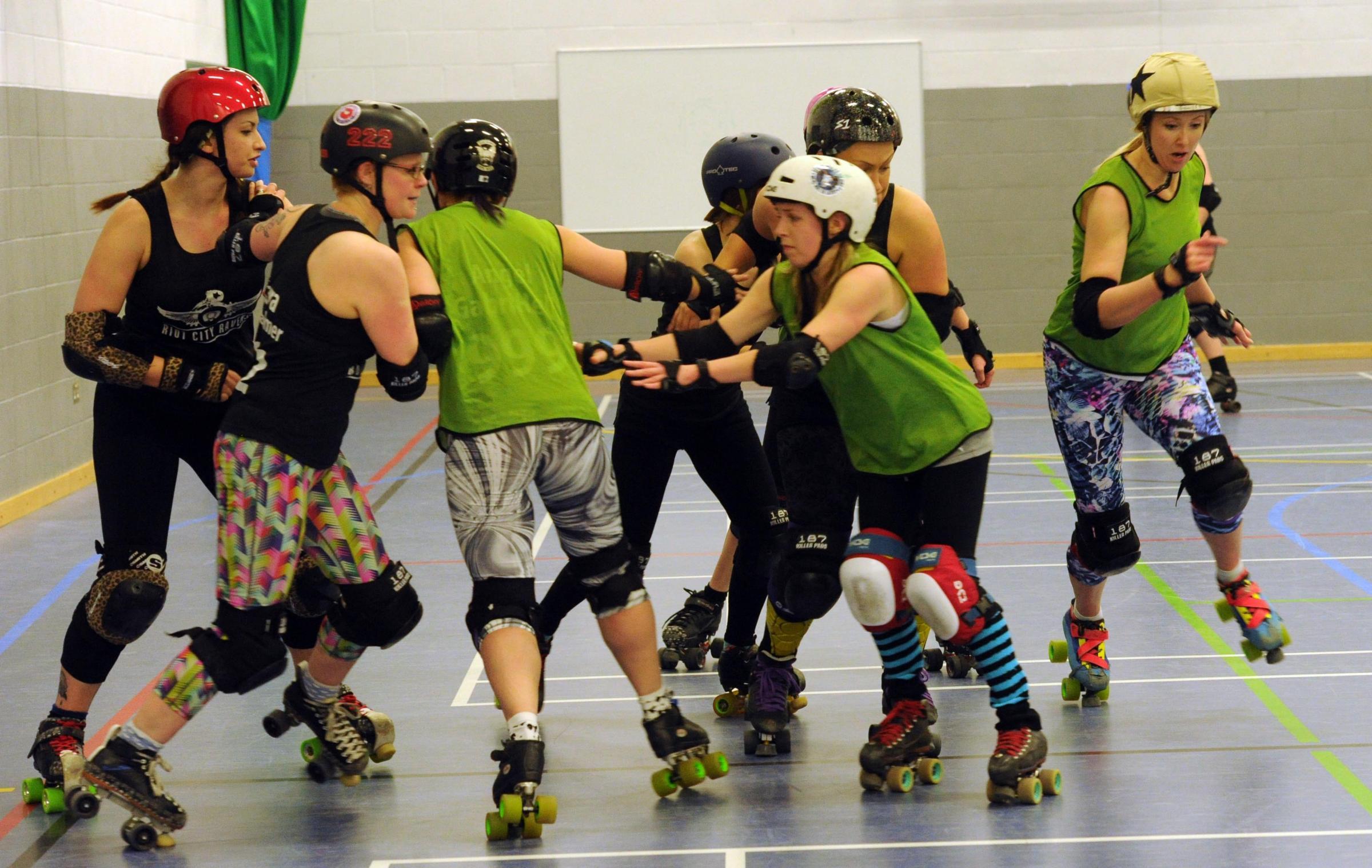 Riot Roller Riot City Ravens Roller Derby