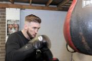 Lee Churcher who runs boxing lessons for kids in Ringland at the back of a hairdressers has been told by Newport City Homes that he must stop. (16773295)