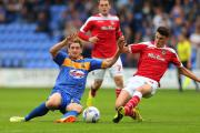 GOOD DAY: Regan Poole made his County debut in the 0-0 draw at Shrewsbury in September