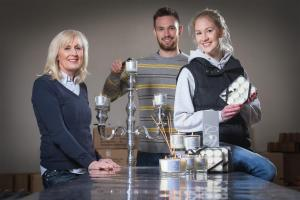 Business Wales helps provide the spark for homemade candle company