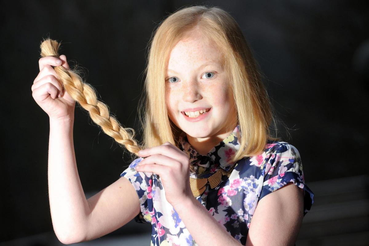 Abertillery Girls Hair Cut Fundraiser For Special Trip South