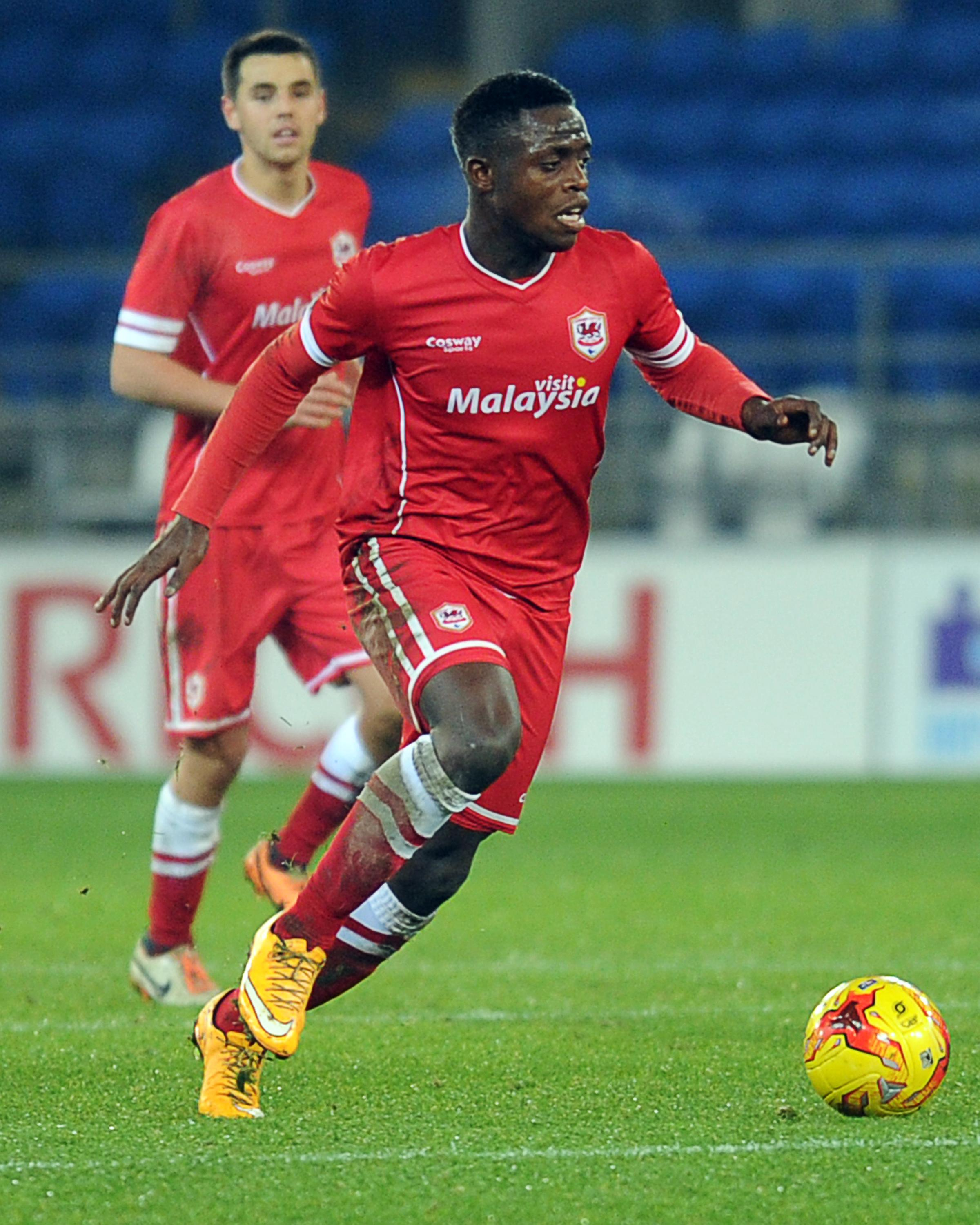 LOAN MOVE: Cardiff City defender David Tutonda. Picture: Cardiff City