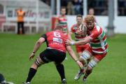 PASSED FIT: Cameron Regan is one of a number of players that have overcome injury to feature for Ebbw Vale against Pontypridd