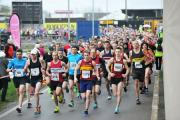The route of Sunday's Newport Half: the first time the race goes through the city centre.