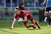 LIVEWIRE: Liam Williams was a constant menace for Wales in Rome