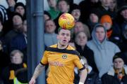 FOCUSED: County striker Miles Storey