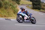 SPEED: Rhys Hardisty in action on the Isle of Man