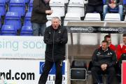 Inverness's manager Terry Butcher watches as his team play Motherwell during the Clydesdale Bank Scottish Premier League match at the Tulloch Caledonian Stadium, Inverness. PRESS ASSOCIATION Photo. Picture date: Saturday May 4, 2013. See PA story SOCCER I