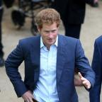 South Wales Argus: Prince Harry at Sunday's London Marathon