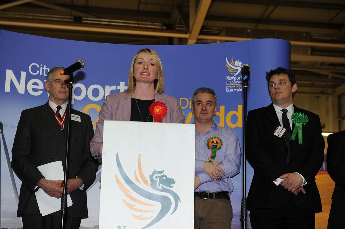 ELECTION 2015: Labour's Jess Morden scores Newport East hat-trick