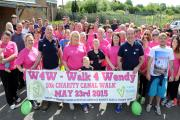 180 walk in memory of 'inspirational' Caerphilly woman