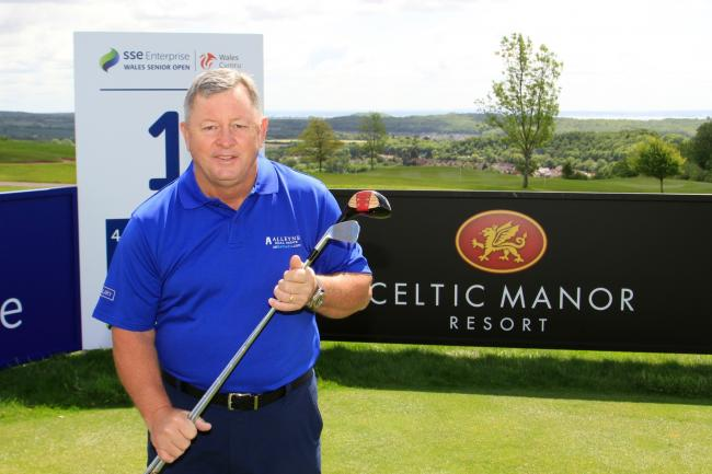 Woosnam targets win in Wales after being reunited with famous driver