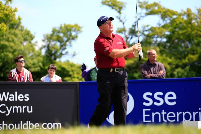Ian Woosnam in contention at Celtic Manor