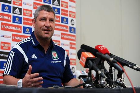 GOING: Osian Roberts is to leave his role as Wales assistant manager
