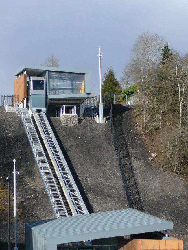 The Ebbw Vale Cableway which opens to the public on Wednesday 10th June.  (28598553)
