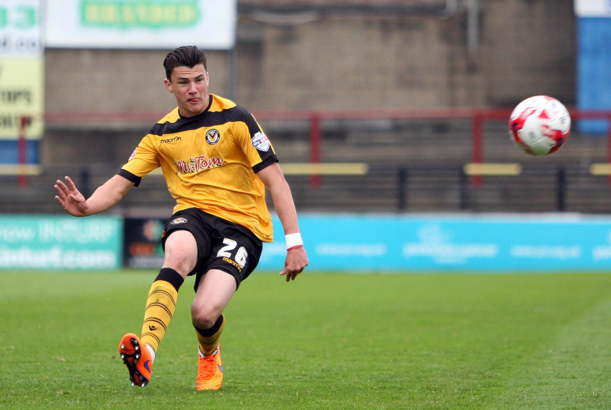 NATIONAL SERVICE: Former Newport County star Regan Poole