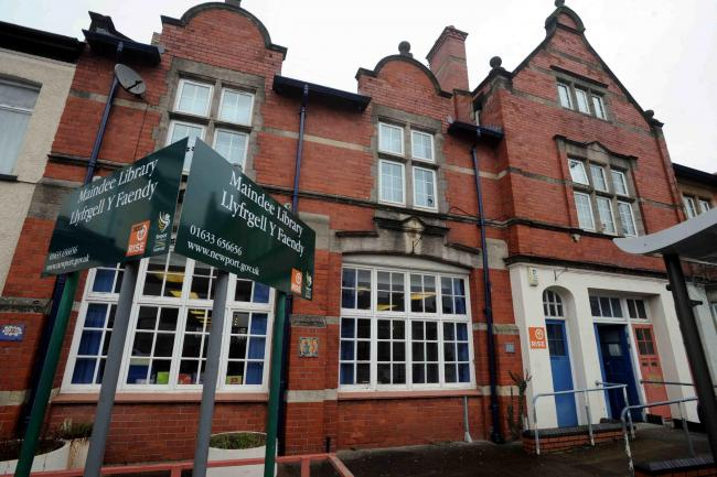 BRIGHTER FUTURE? ommunity group and charity Maindee Unlimited has approached Newport City Council asking to take over the library as a community asset on licence for the next 18 months