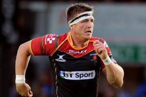 Jackson passed fit for Dragons' Edinburgh encounter
