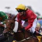 South Wales Argus: Victoria Pendleton finishes second in her first race in the Betfair Novice Flat Amateur Riders Handicap at Ripon