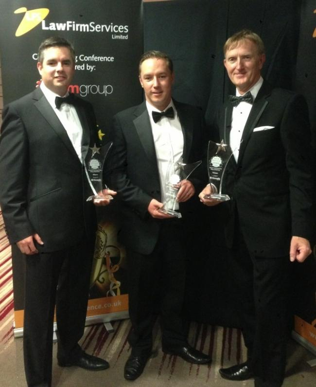 hat trick of awards for howells solicitors including uk conveyancing