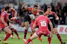 IN FINE FORM: Hopefully Ashton Hewitt can cause the Scarlets plenty of problems with ball in hand