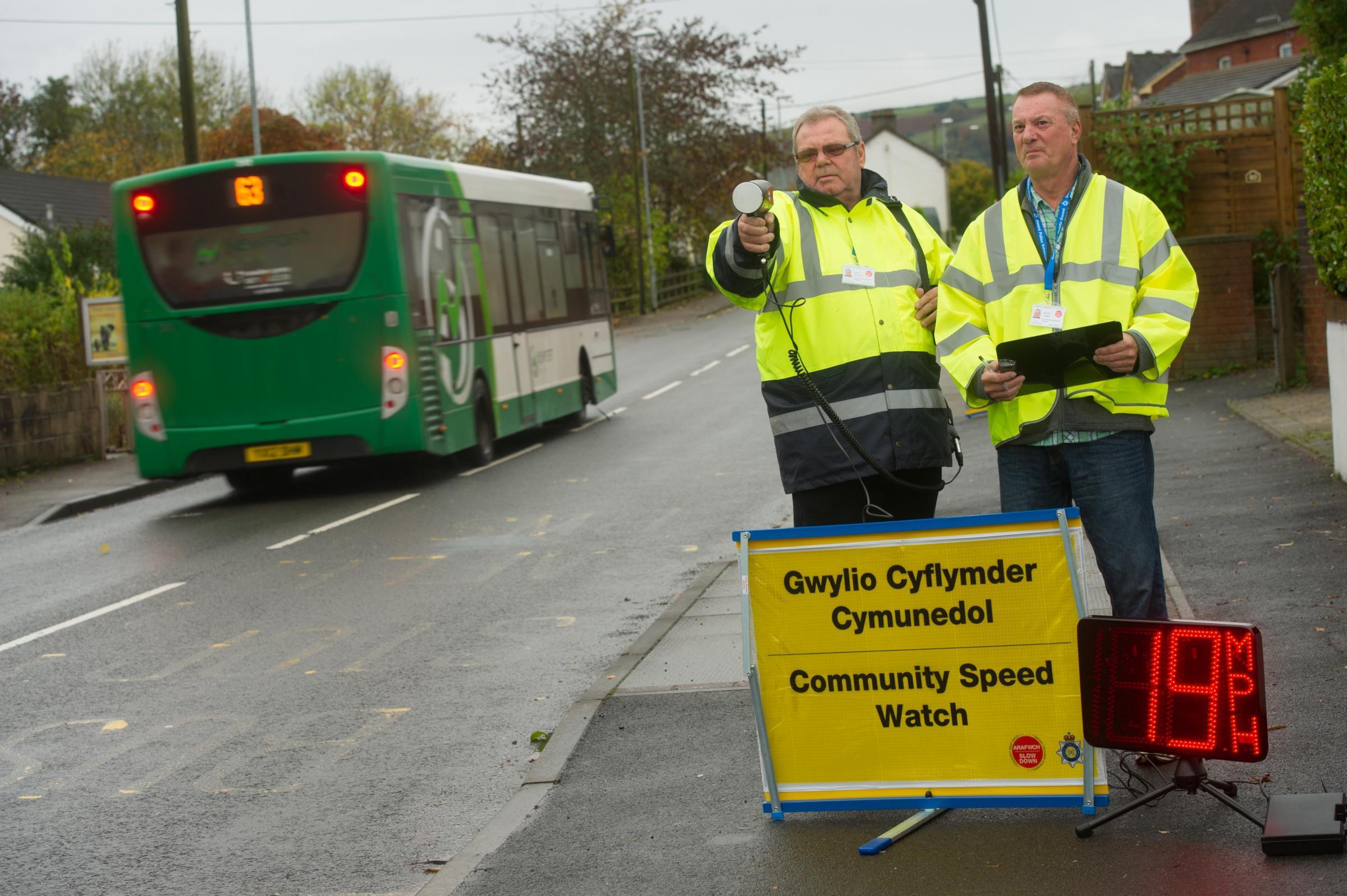 Eighth community speedwatch scheme set up in Gwent   South Wales Argus