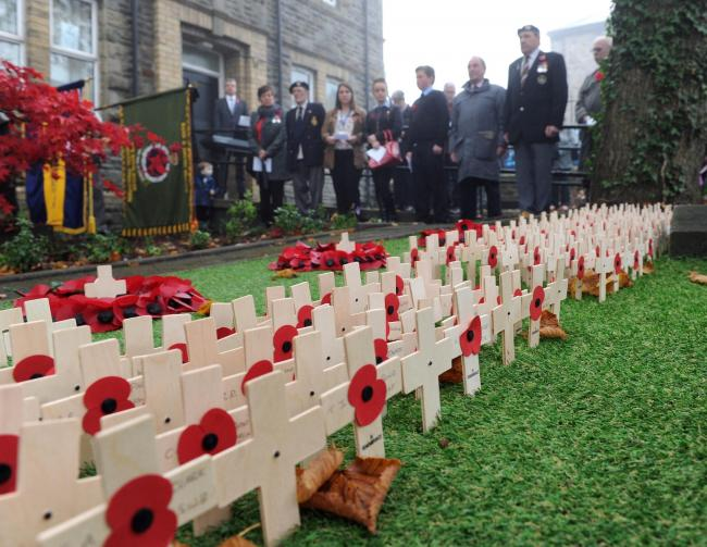 Remembrance services and parades across Gwent