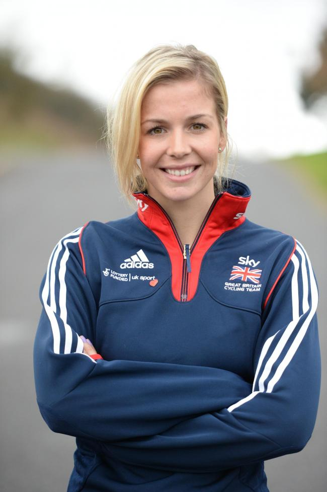 BOUND FOR BRAZIL: Welsh cyclist Becky James