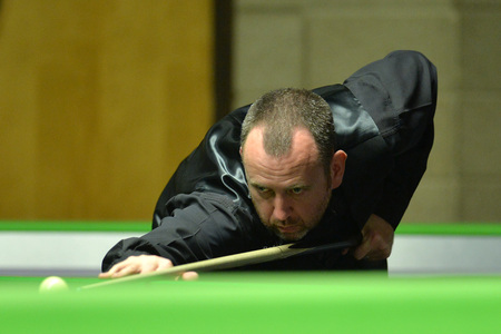 EXIT: Cwm's Mark Williams is out of this year's Welsh Open. Picture from files