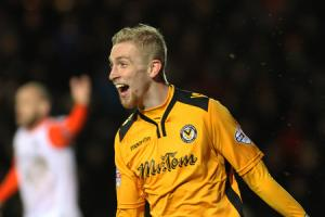 The gaffer said 'go on and make an impact' and I think I did, says Newport County's new star Oli McBurnie