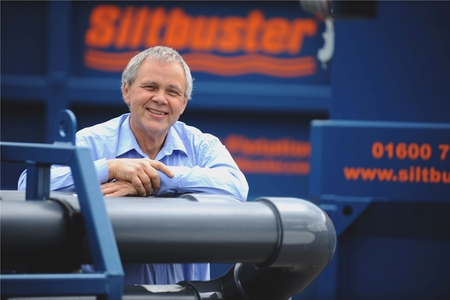 Dr Richard Coulton, CEO of Monmouth-based Siltbuster
