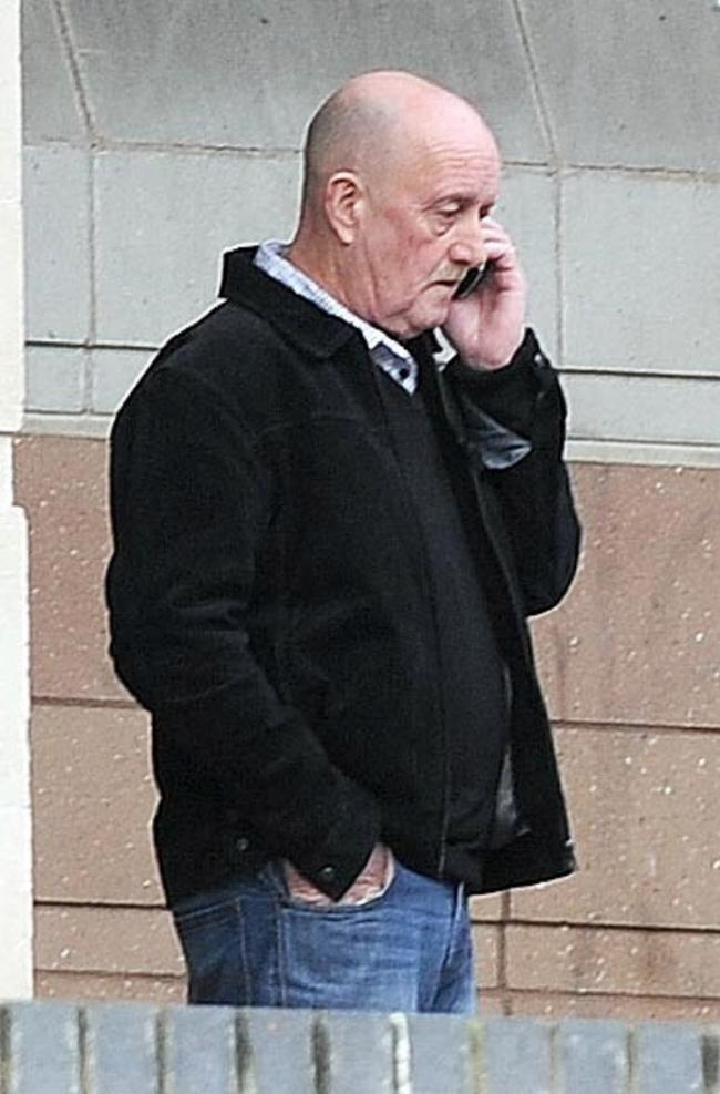Philip Stephens outside Newport Crown Court after being charged with dangerous driving. (52043623)